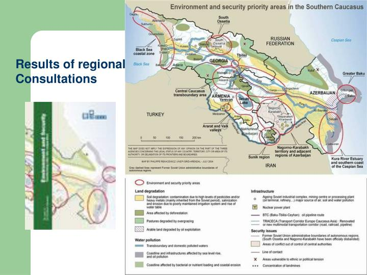 Results of regional Consultations