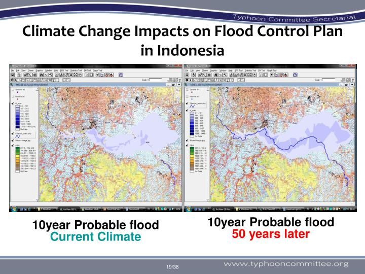 Climate Change Impacts on Flood Control Plan