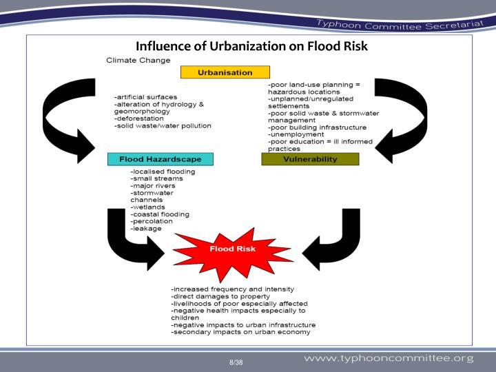Influence of Urbanization on Flood Risk