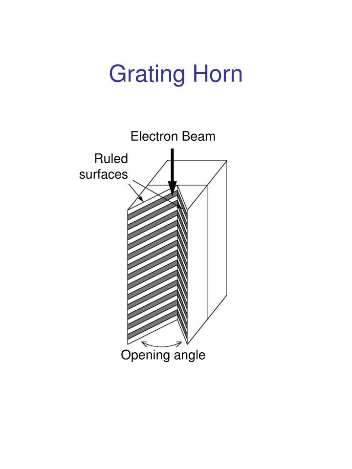 Grating Horn
