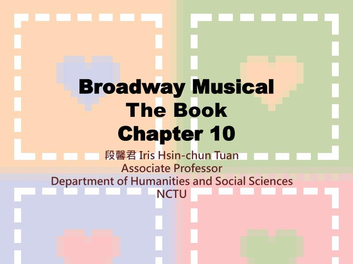 broadway musical the book chapter 10 n.