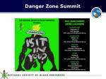 danger zone summit
