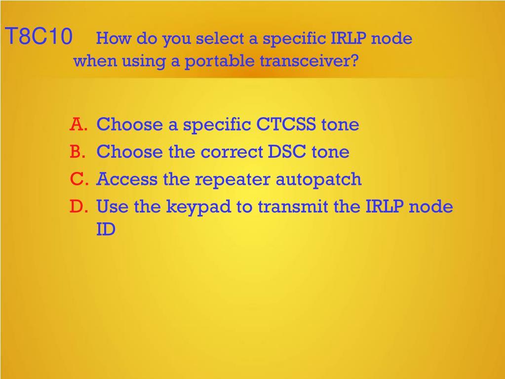 PPT - Technician Licensing Class PowerPoint Presentation