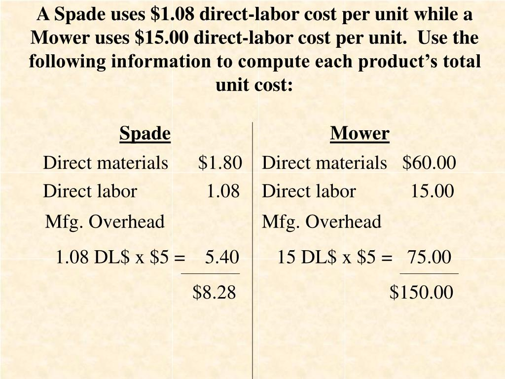 PPT - Chapter 6 Cost Allocation and Activity-Based Costing