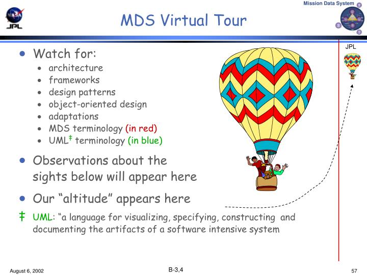 MDS Virtual Tour