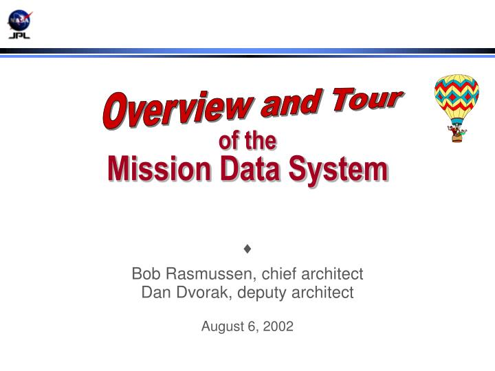 of the mission data system n.