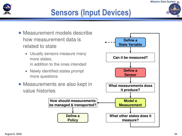 Measurement models describe how measurement data is related to state