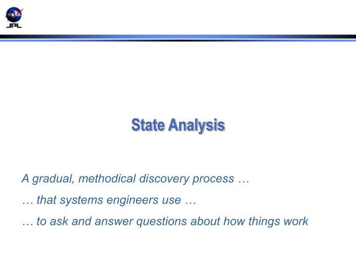 State Analysis