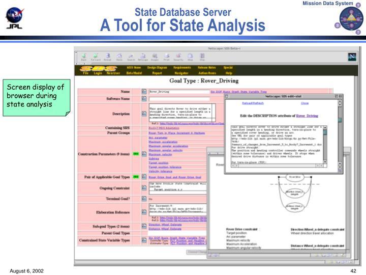 State Database Server