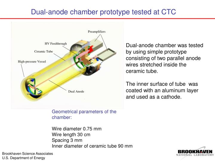 Dual-anode chamber