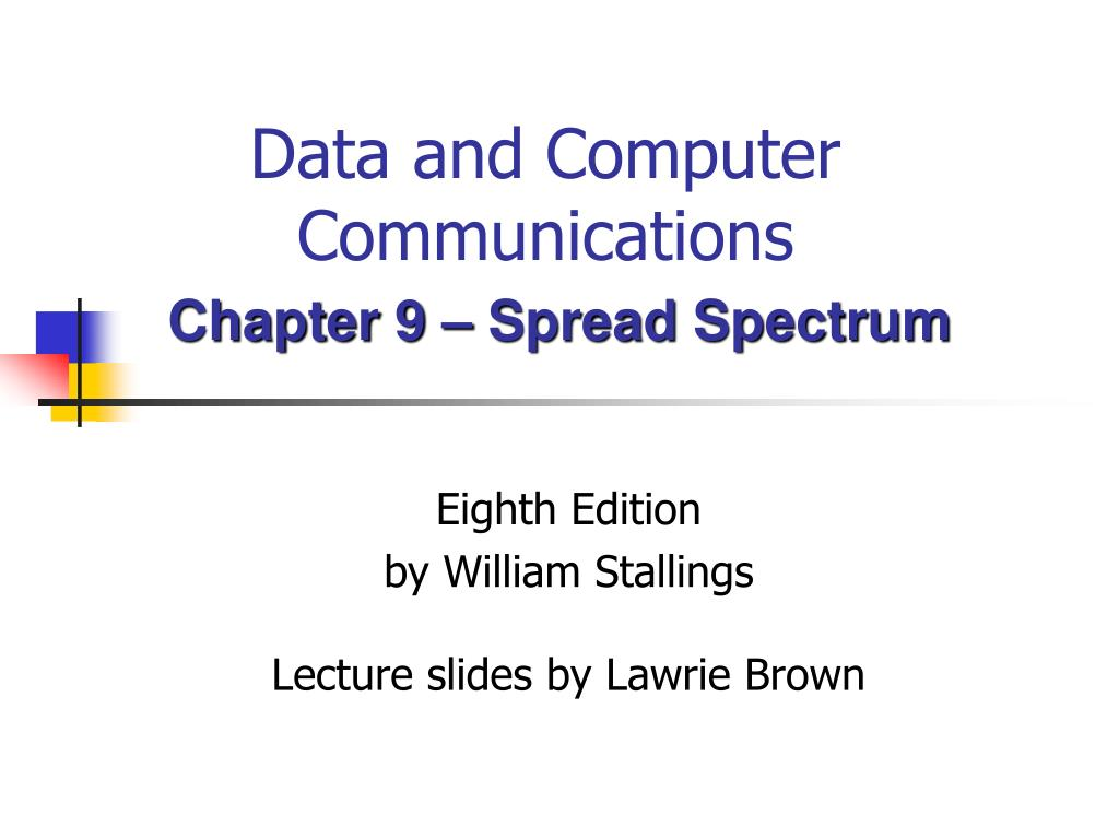 Ppt Data And Computer Communications Powerpoint Presentation Id