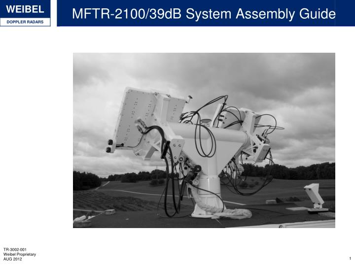 mftr 2100 39db system assembly guide n.