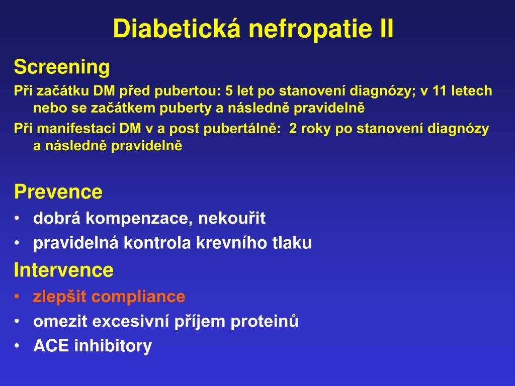 diabetes kompenzace en