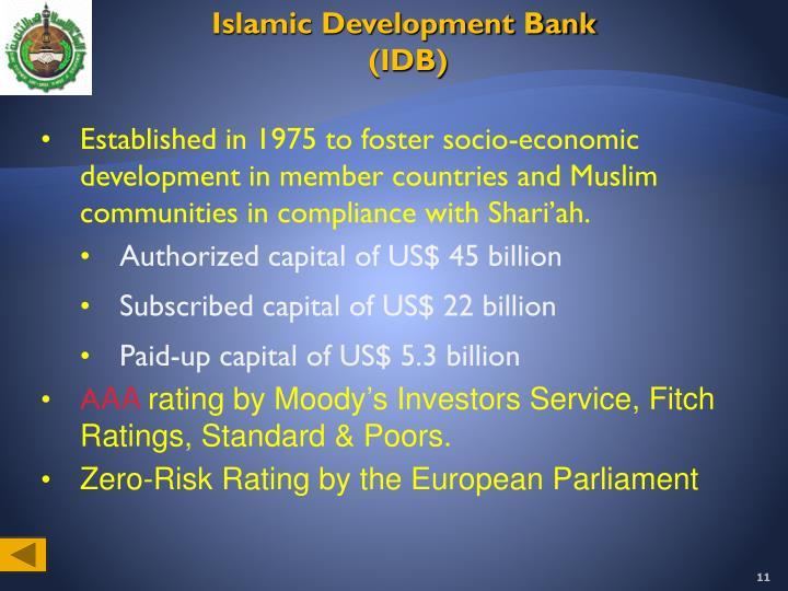 Islamic Development Bank