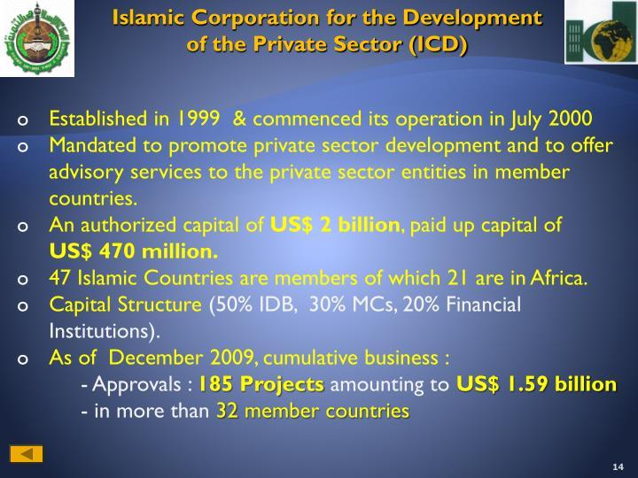 Islamic Corporation for the Development