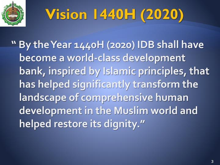 Vision 1440h 2020