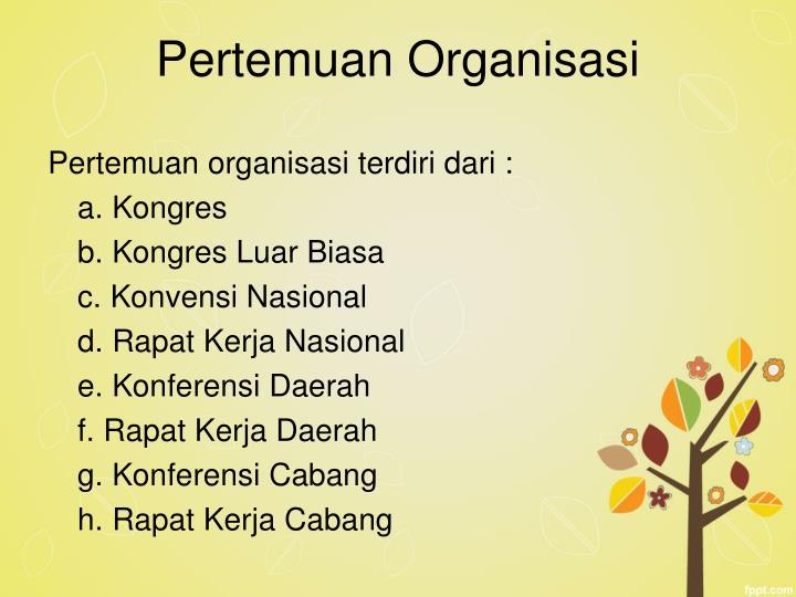 Pertemuan Organisasi