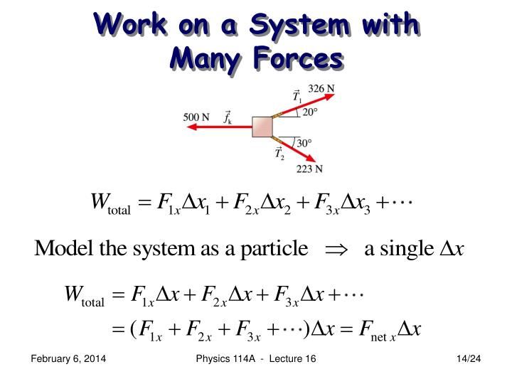 Work on a System with