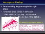 aerospace al alloys