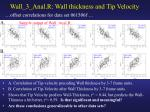 wall 3 anal r wall thickness and tip velocity2