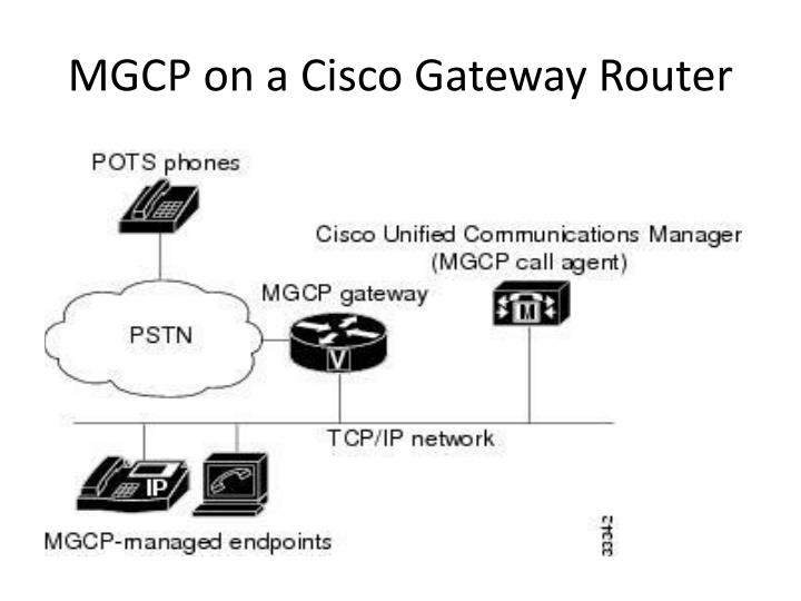 MGCP on a Cisco Gateway Router