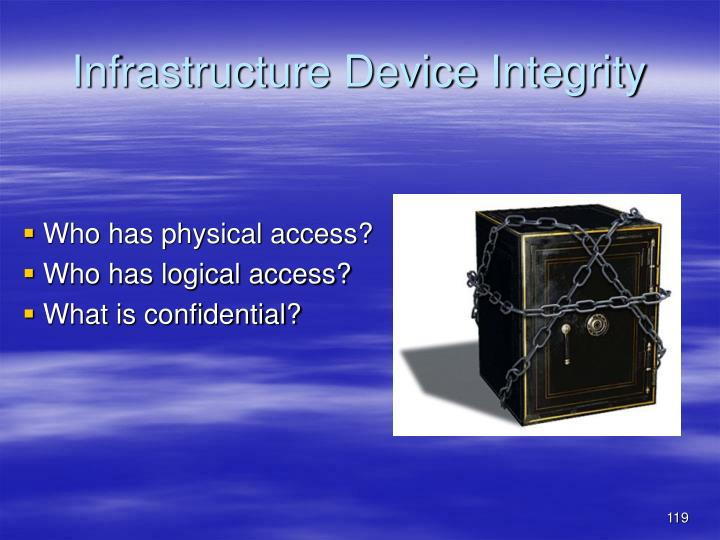 Who has physical access?