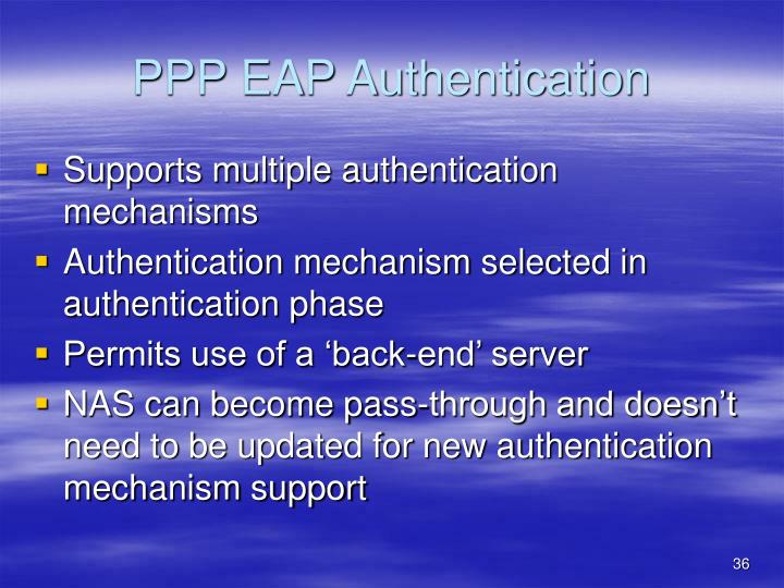 PPP EAP Authentication