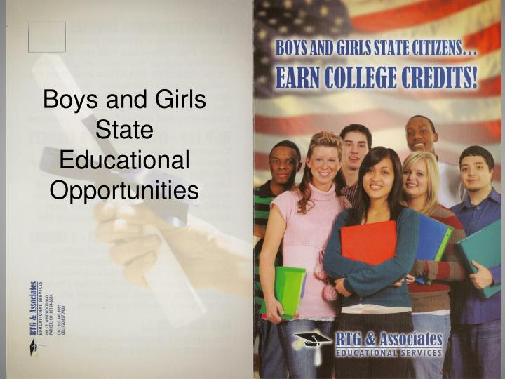Boys and Girls State