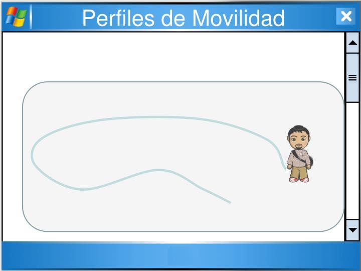 Perfiles de Movilidad