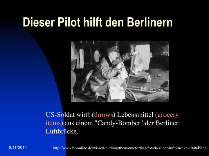 Dieser Pilot hilft den Berlinern