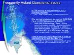 frequently asked questions issues