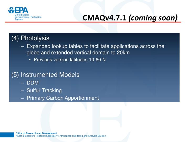 CMAQv4.7.1