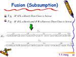 fusion subsumption