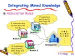 integrating mined knowledge
