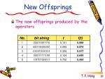 new offsprings