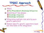 tpgki approach