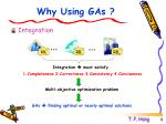 why using gas