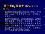 b 2 riboflavin