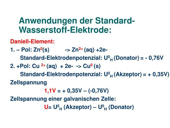 ppt die standard wasserstoff elektrode standard elektrodenpotenziale und ihre anwendungen. Black Bedroom Furniture Sets. Home Design Ideas