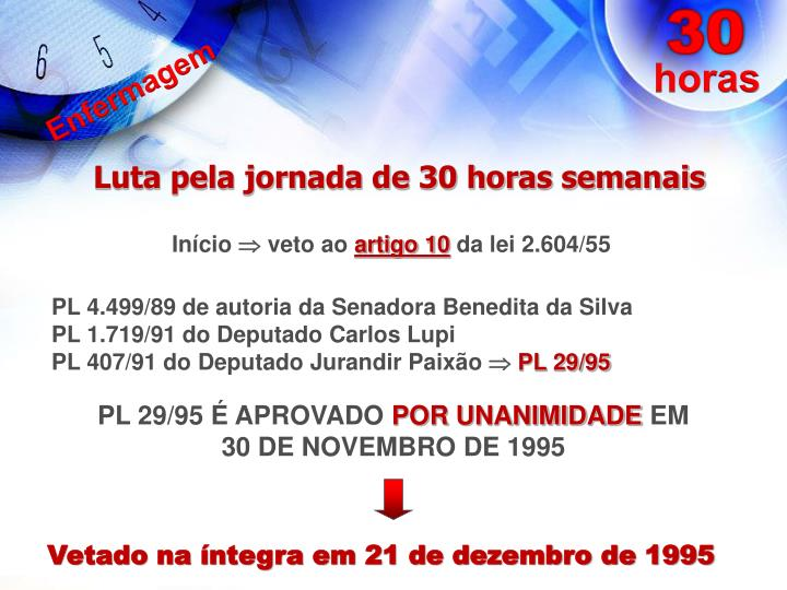 PL 29/95 É APROVADO