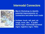intermodal connectors