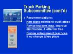 truck parking subcommittee cont d3