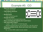 example 5 co