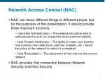 network access control nac