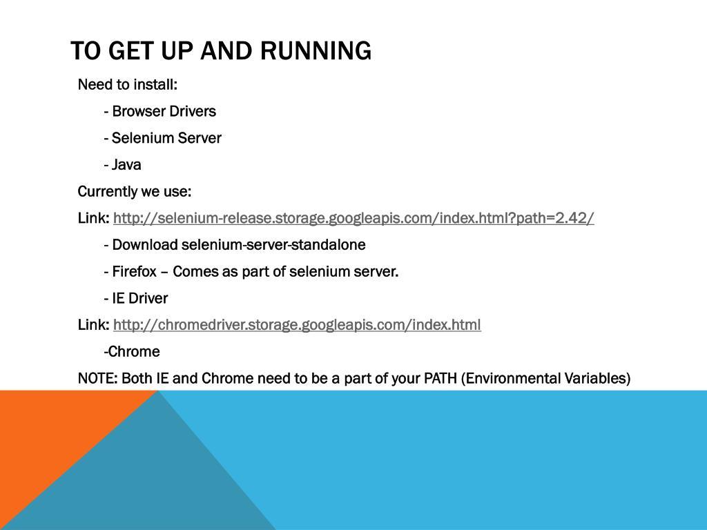 PPT - Selenium Grid PowerPoint Presentation - ID:4272191