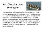 mr cimbak s crew connection