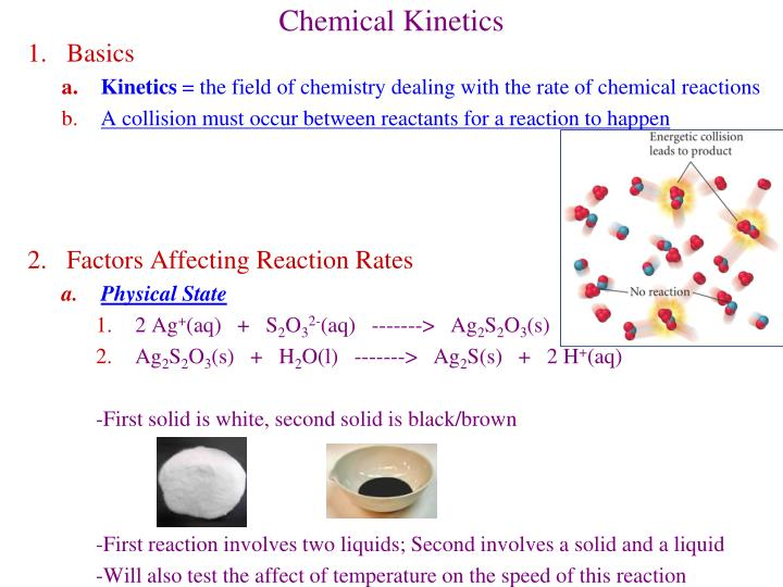 chemical kinetics n.