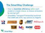 the smartway challenge