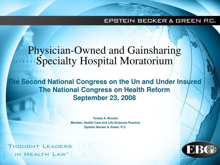 teresa a brooks member health care and life sciences practice epstein becker green p c n.