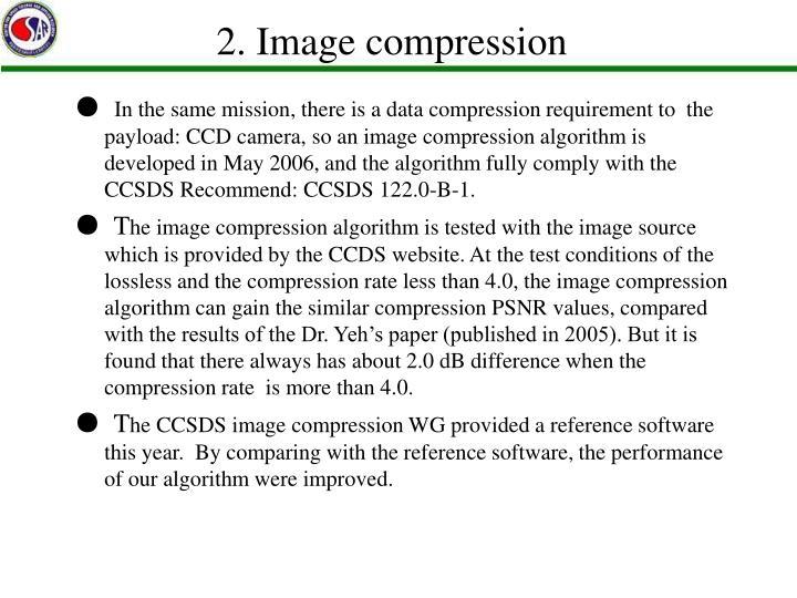 2. Image compression